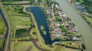 Delta Dunarii, Mila23, vedere aeriana
