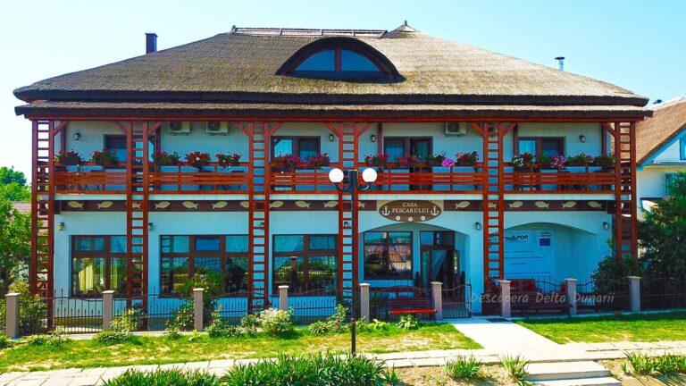 cazare delta dunarii, la casa pescarului