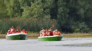 Excursii cu barca si ghid
