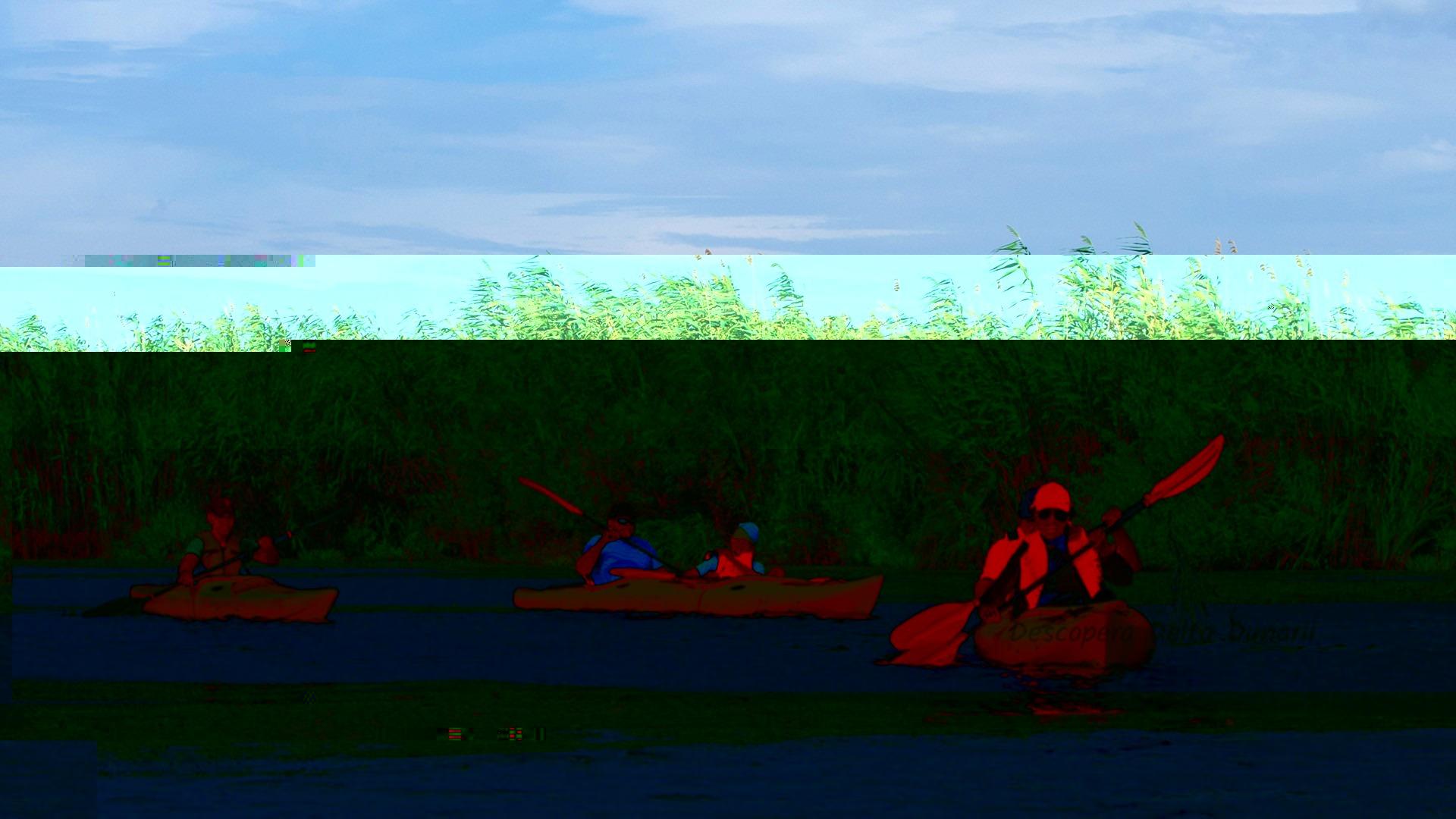 Cu caiacul in Delta Dunarii