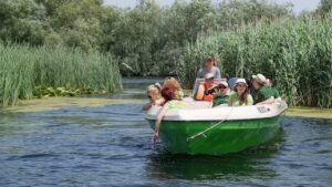 Barca excursie Delta Dunarii