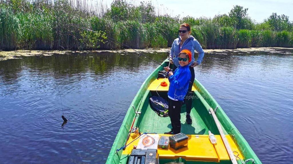 pescuieste cu copiii